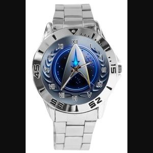 Other - Nerd Love!! Custom Star Trek Stainless Steel Watch